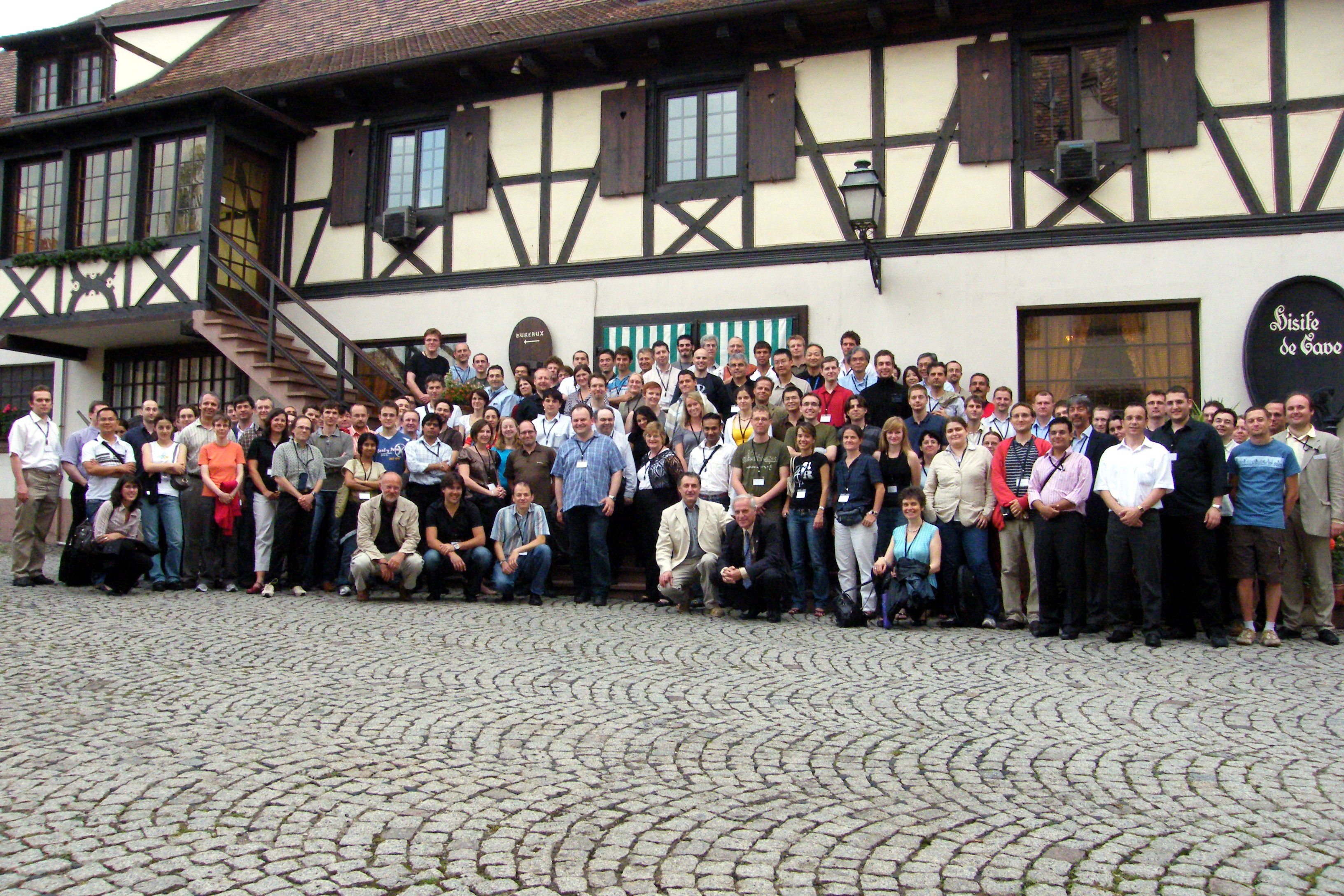 Participants to the Chemoinformatics Strasbourg Summer School 2008